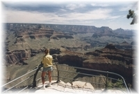 am Gran Canyon, Arizona