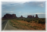 Monument Valley - Navajo Reservation - Arizona/ Utah